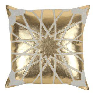 #Gold #metallic #pillow in stars!