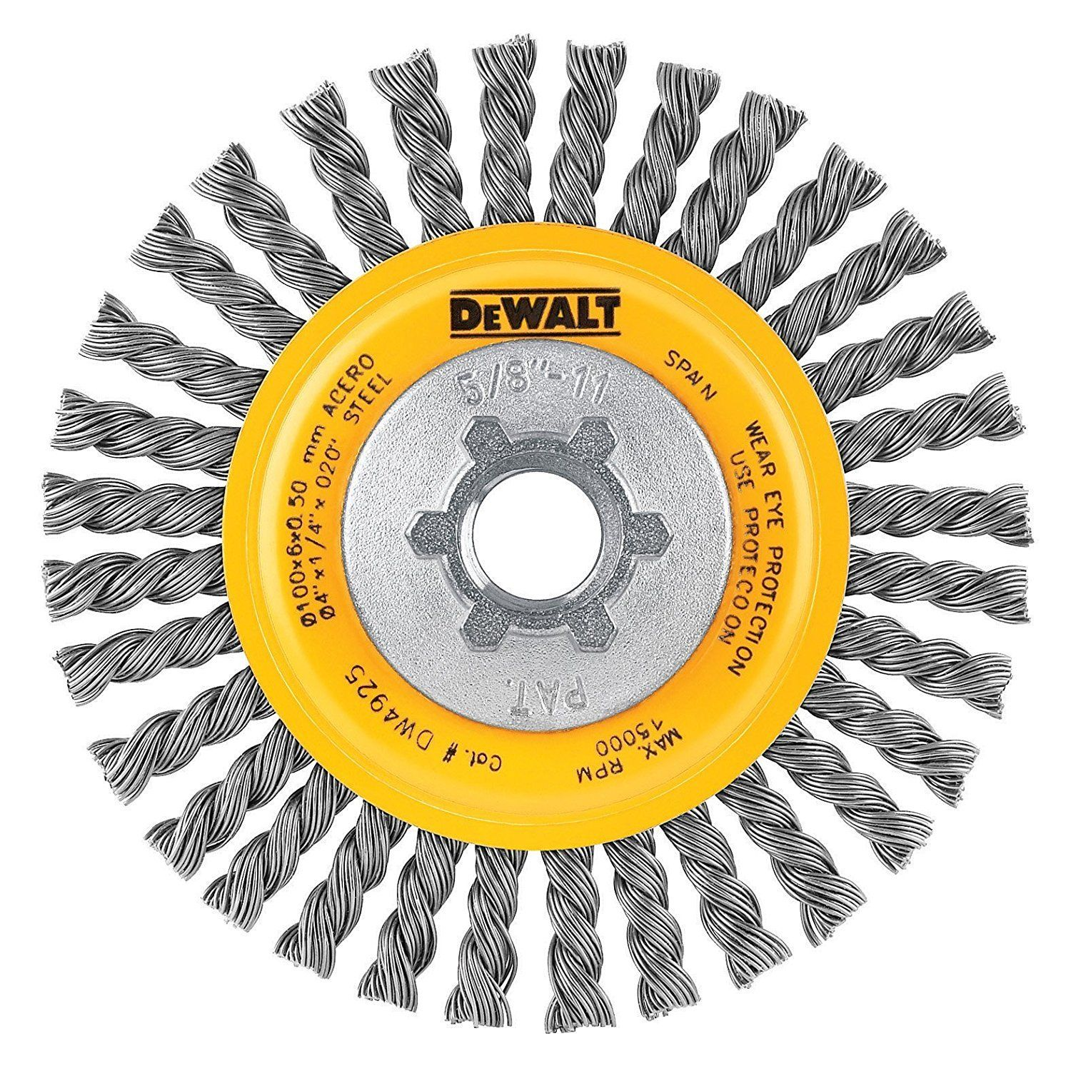 Pleasant Dewalt Dw4925 4 Inch Stringer Bead Wire Wheel Carbon Steel 5 Gmtry Best Dining Table And Chair Ideas Images Gmtryco