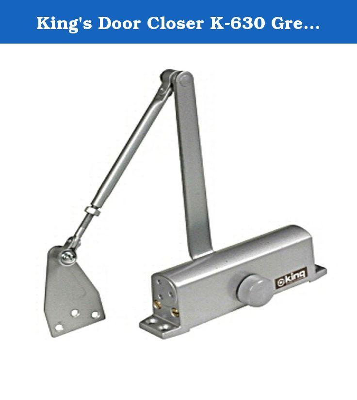 Kingu0027s Door Closer K-630 Grey for Iron Gates u0026 Front Gates. Holds doors from 40~65KGs. Size of doors starts from 950×2100mm.  sc 1 st  Pinterest & Kingu0027s Door Closer K-630 Grey for Iron Gates u0026 Front Gates. Holds ...