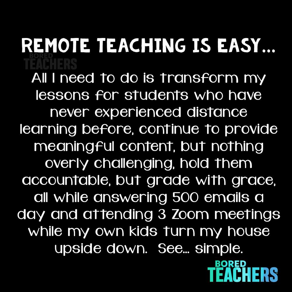 So Simple Teaching Humor Teacher Quotes Funny Bored Teachers