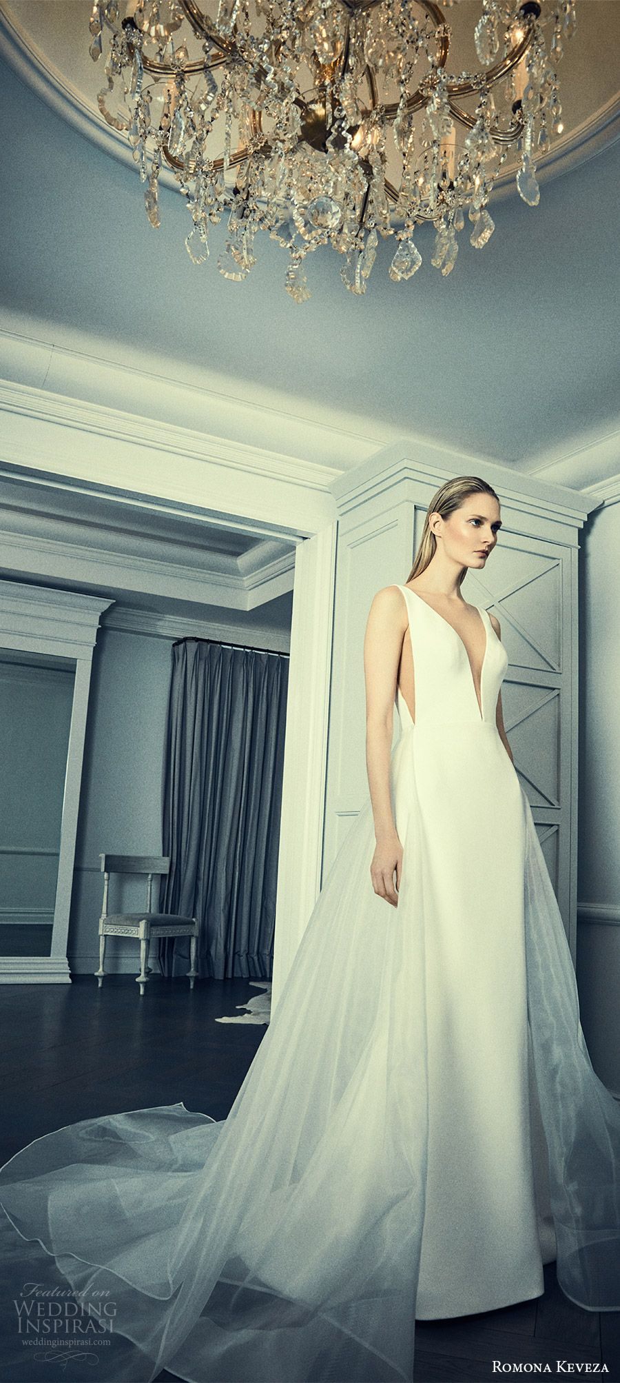 Romona keveza collection spring wedding dresses trumpet