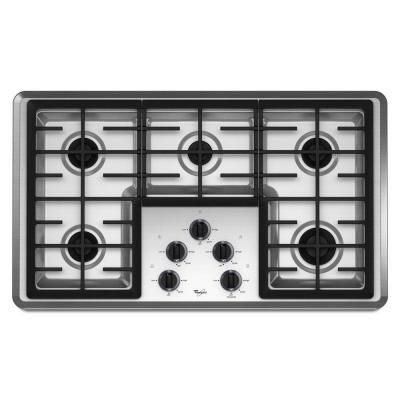 Dreaming Love To Have A Gas Cooktop And An Electric Wall Oven Mounted In Base Cabinet Gas Cooktop Stainless Steel Cooktop Cooktop