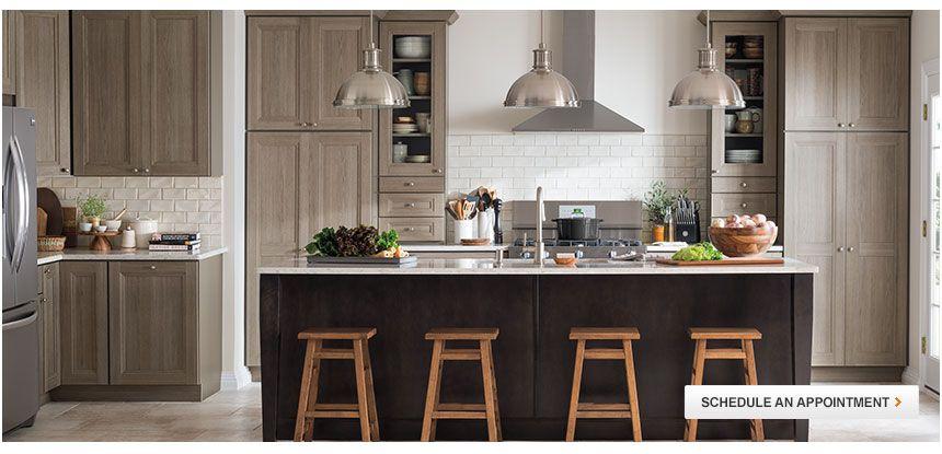 Martha Stewart Living Tipton Wood Grain Looking Cabinets For