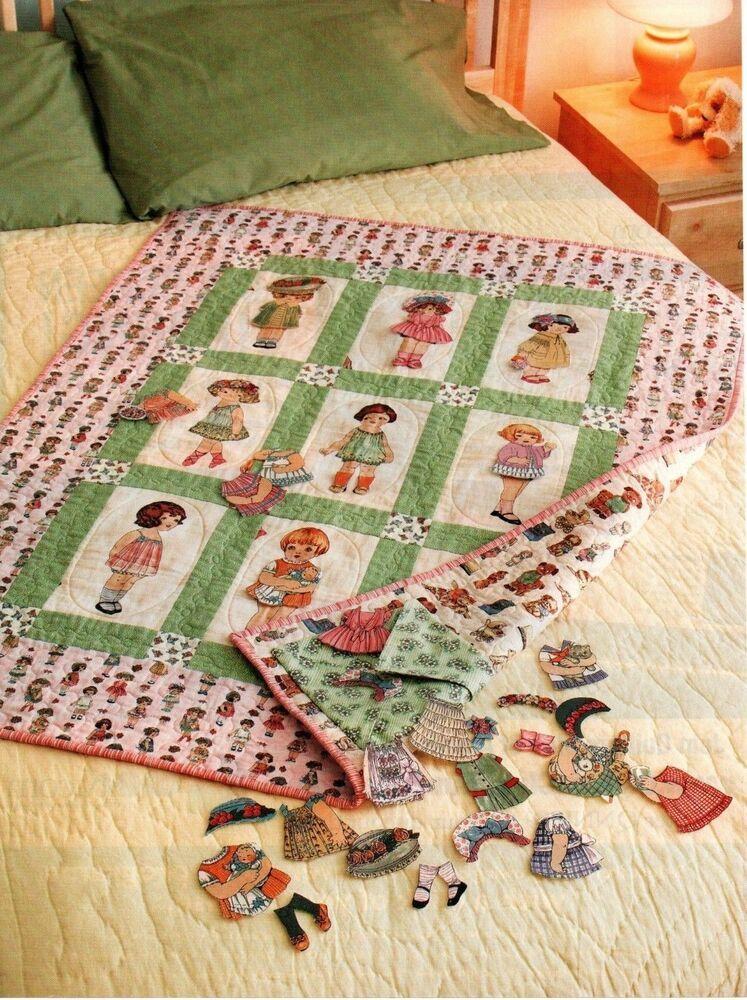 Paper Dolls Quilt Pattern Pieced Applique Cn In 2020
