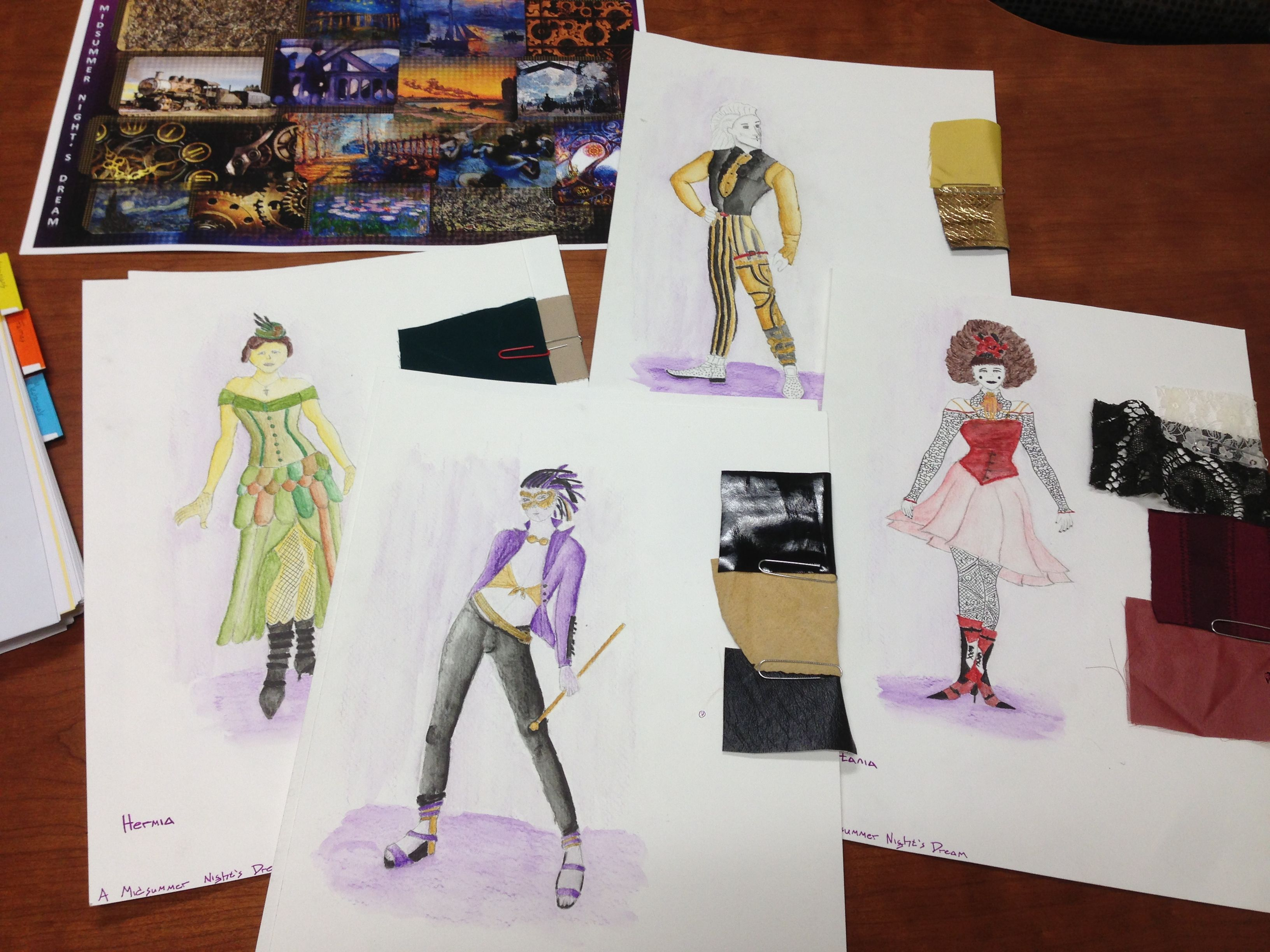 Costume Design course work by Gisela. & Costume Design course work by Gisela. | Student Course Work ...