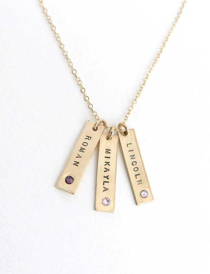 Etsy Grandma gift, Name Necklace, Wife Christmas Gift, Personalized