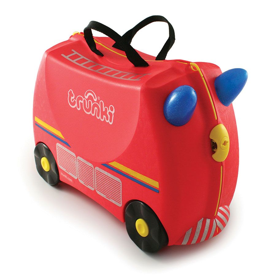 Trunki Ride On Suitcase Freddie The Fire Engine