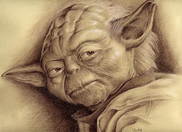 Souvent starwars yoda by charcoalking77.deviantart.com on @DeviantArt  AD67