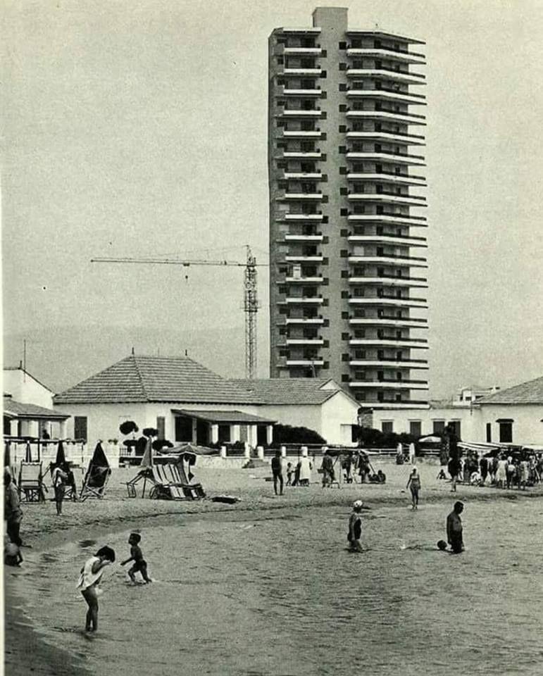Edifico Paula El Primer Rascacielos Para La época En Mazarrón Años 60 El Puerto Mazarrón Murcia