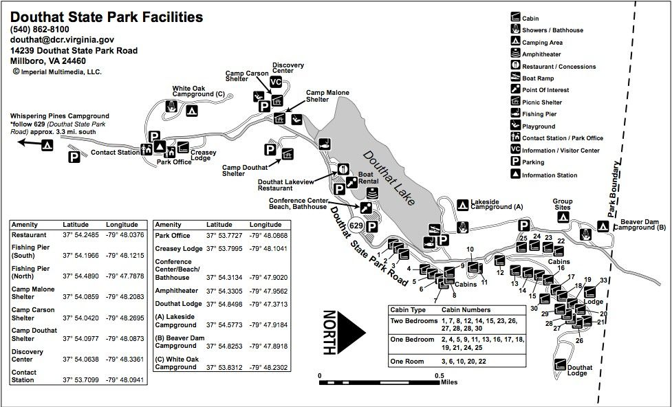 Rock Cut State Park Camping Map