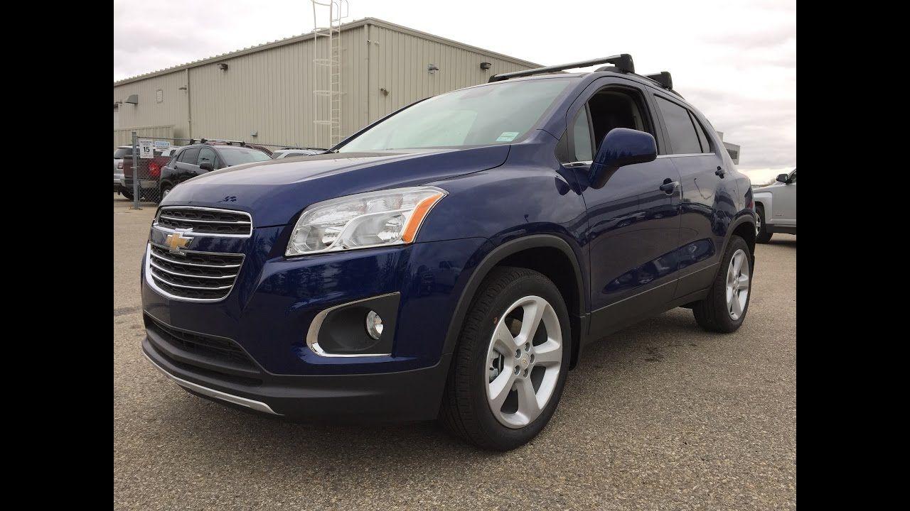 New 2016 Chevrolet Trax Ltz Blue Loaded Stock 16n205 Chevrolet Trax Chevrolet Trax
