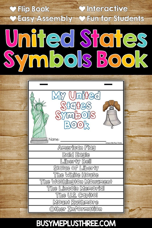 United States Symbols Mega Unit American Symbols Anchor Charts Printables United States Symbols State Symbols American Symbols