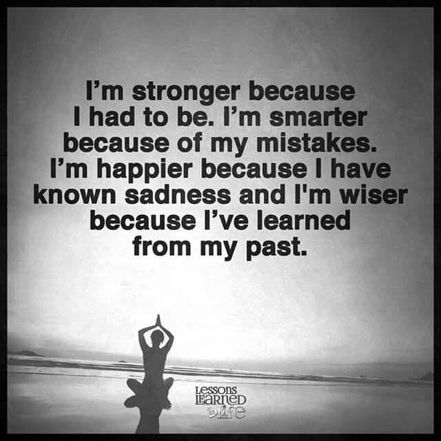 stronger, smarter, happier, wiser