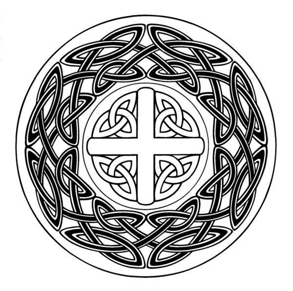 77 Diseños e imágenes de mandalas celtas para descargar y
