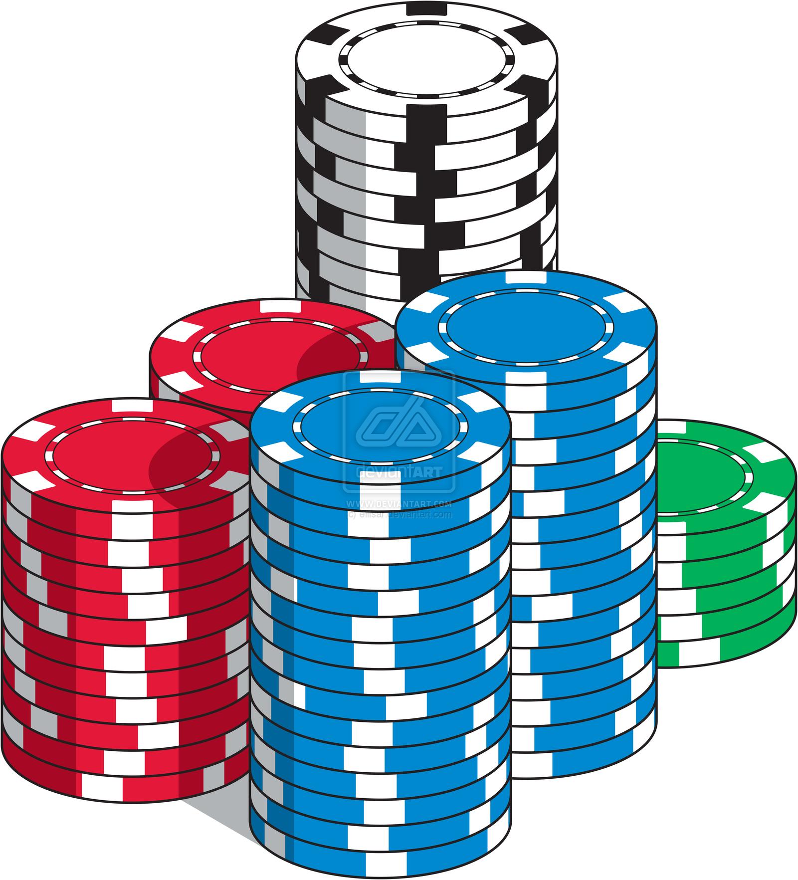 Poker Chips Vector Clip Art Poker Chips Chip Clips