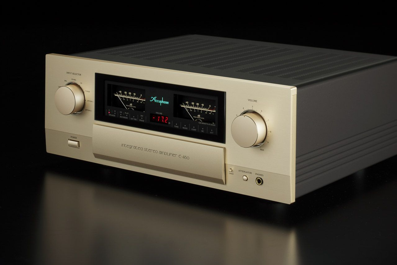 Accuphase E460 HighEnd Power Amplifier !... http