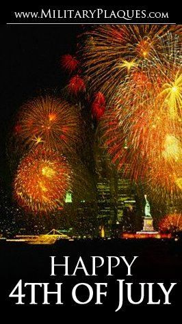 Happy July 4th everyone!! Enjoy the fireworks and have a blast! :))