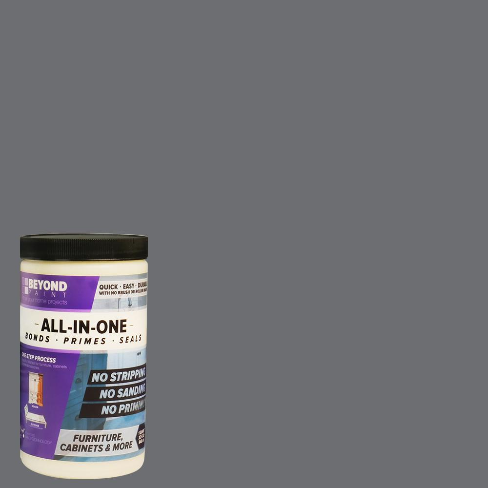 Beyond Paint 1 Qt Pewter Furniture Cabinets Countertops And More Multi Surface All In One Interior Exterior Refinishing Paint Bp08 Beyond Paint Painting Cabinets Brown Cabinets