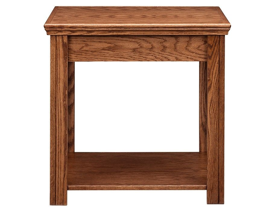 Stupendous Slumberland Chambers Collection Oak End Table Pdpeps Interior Chair Design Pdpepsorg