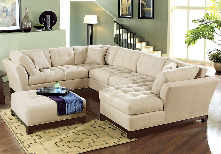 Rooms To Go Metropolis Sectional Vanilla 2599 99 Taupe Sectional