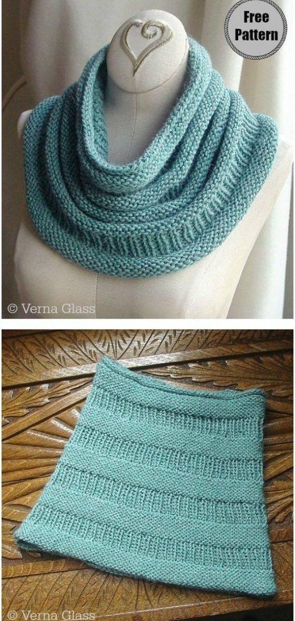 Simple Copycat Cowl Free Knitting Pattern ...