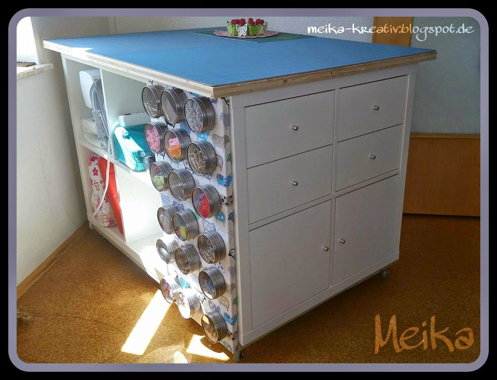 schon seit ewigen zeiten bewundere ich immer wieder die selbst gebauten zuschneidetische im. Black Bedroom Furniture Sets. Home Design Ideas
