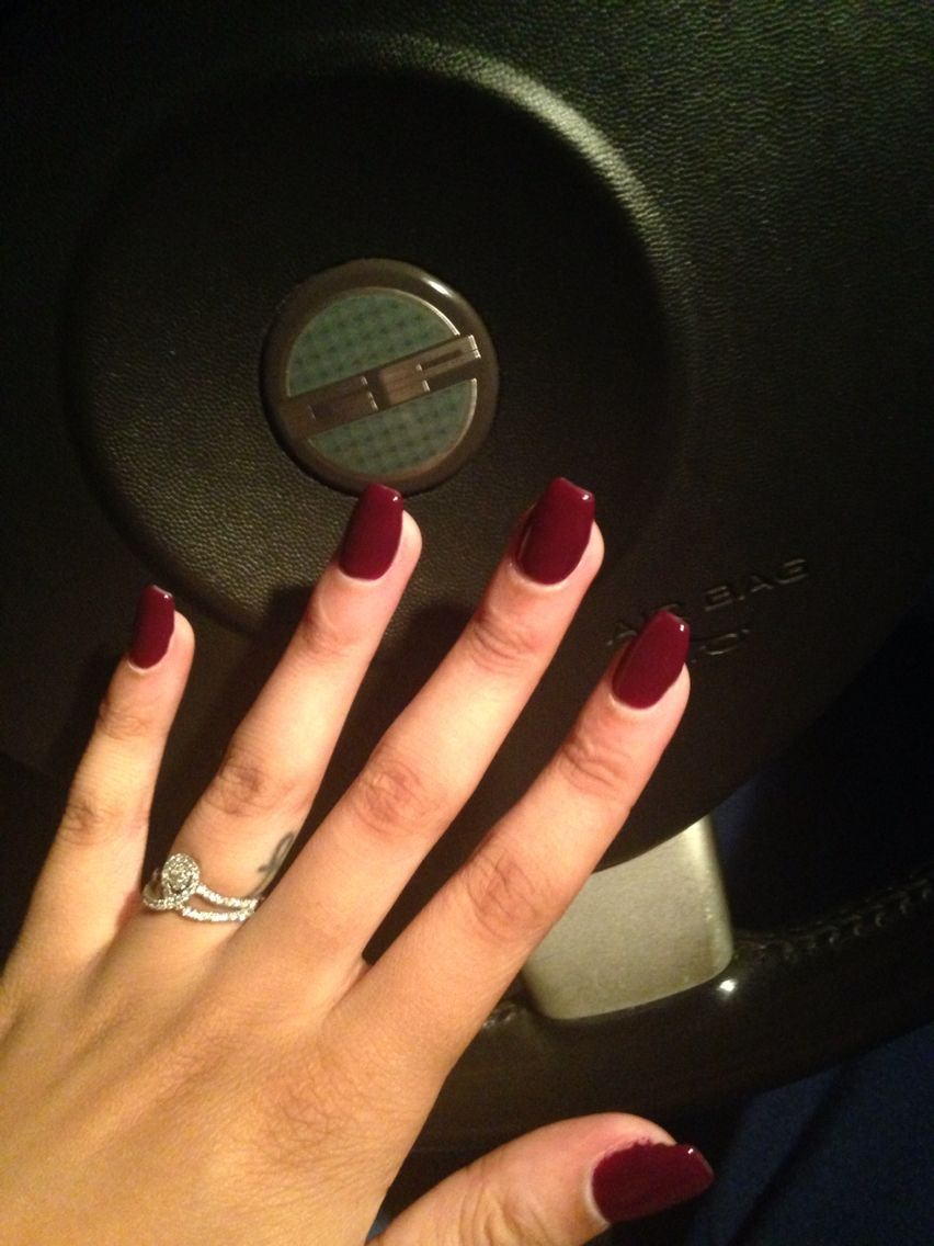 Short coffin nails + my ankh tattoo! @itsjustshamiraaa | Nail ...