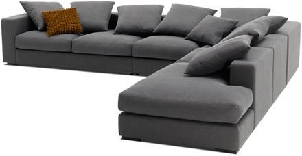 Boconcept Cenova Corner Sofa With Lounging Unit Available In Diffe Fabrics