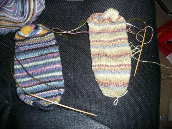 #51 CLOSED -Learn to make socks using 2 circular needles ...