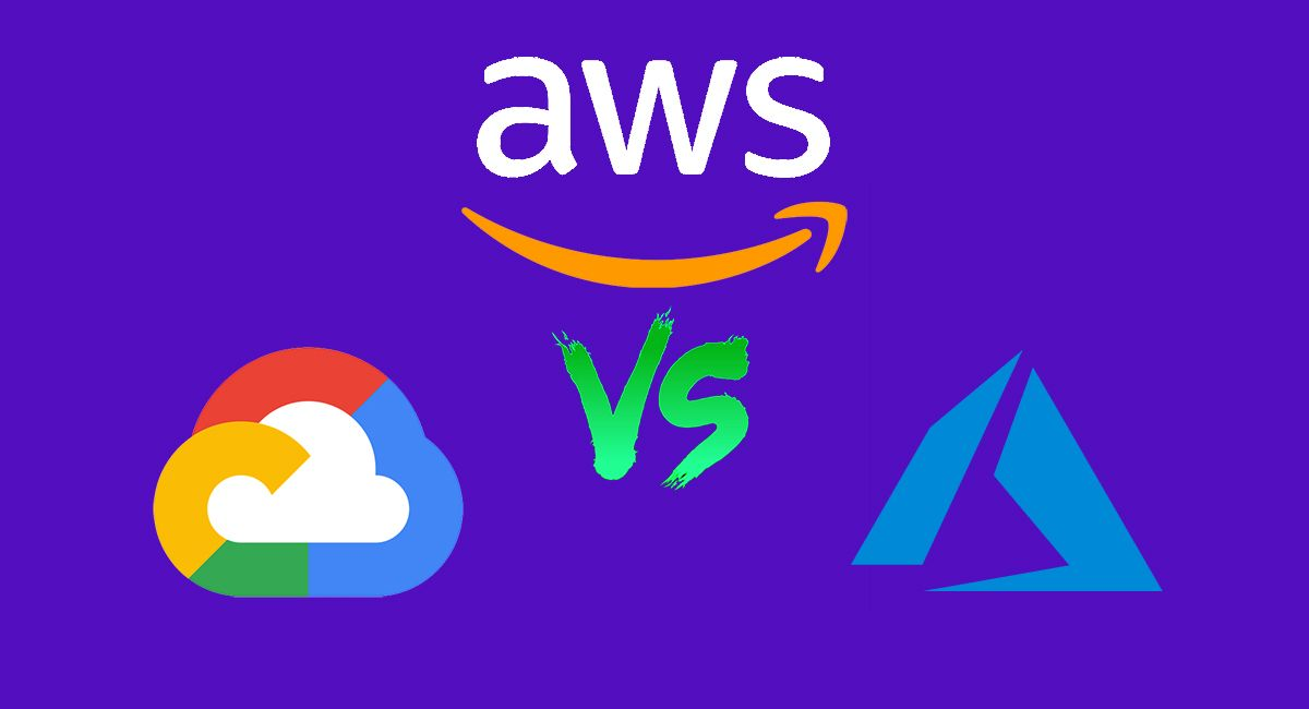 Gcp vs aws vs azure which is best for your next web app
