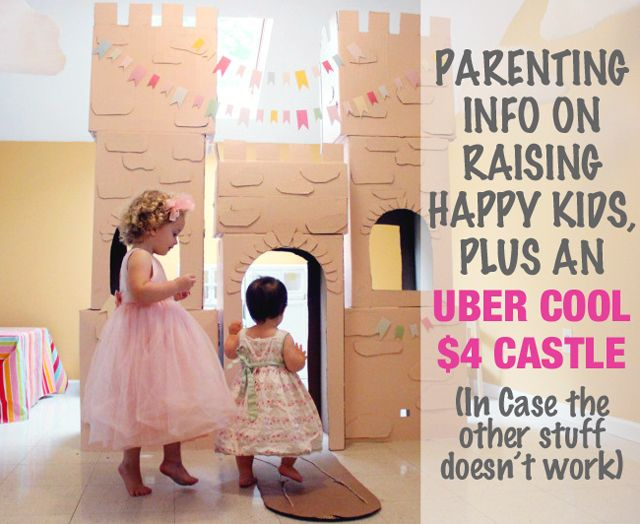 8 Great parenting posts and 1 super cool (and super cheap) DIY castle