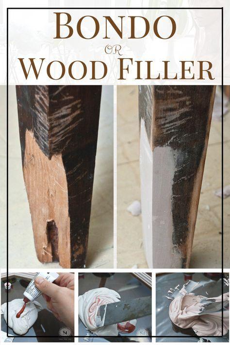 Photo of 家具の修理–Bondo vsフィラー材