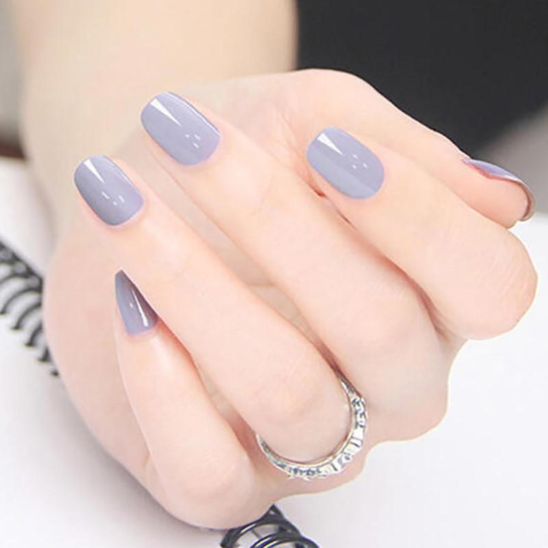 UV Gel Lacquer Nail Polish Gel Cute Simple Nail Art Design For ...