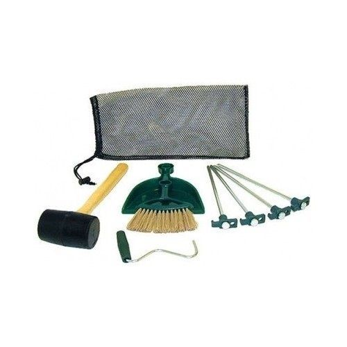 Coleman Tent Kit Description Features Four steel tent pegs with flat striking head to secure your tent Rubber mallet to comfortably secure stakes in the  sc 1 st  Pinterest & Camp Tent Kit Coleman Canopy Accessories Secure Stakes Mallet Mesh ...