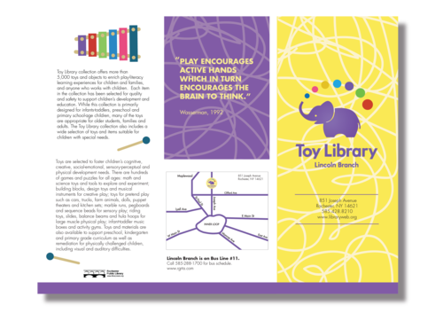 toy library brochure Google Search Brochure, Library