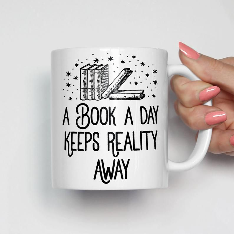 Book Lover Mug, Book Lover Gift, Coffee Mugs with Sayings, Funny Mugs, Cute Coffee Mug, Christmas Gift, Librarian Gift, Gifts for Her 0333