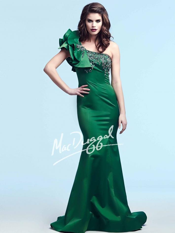 Emerald Evening Gown | Mac Duggal 78885Y | Premier 2017 | Pinterest ...