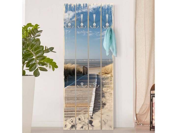 Bilderwelten Wandgarderobe Holz Top Maritim Shabby Garderoben In