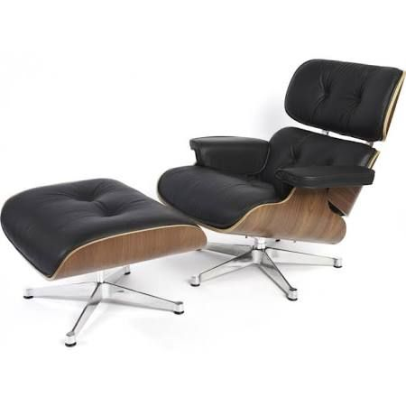 chair and footstool Google Search | Eames style lounge