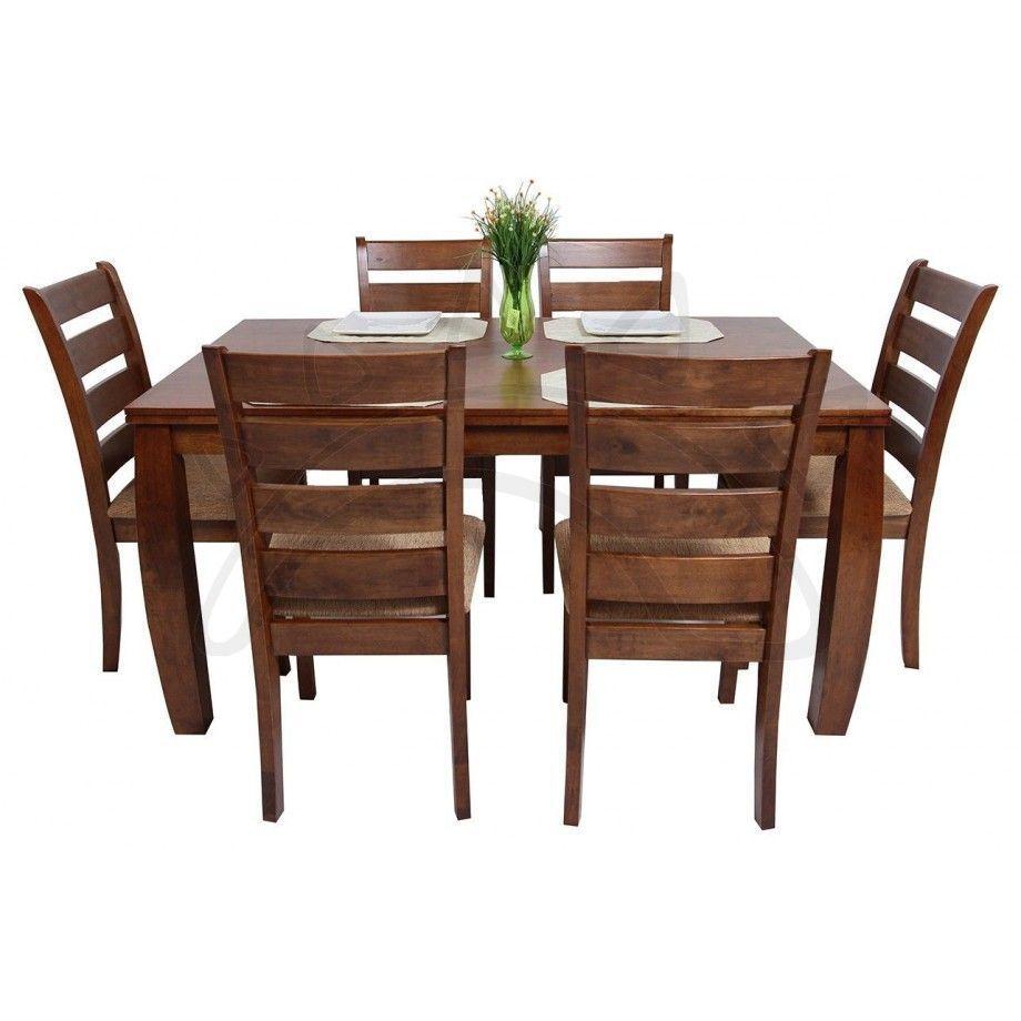 Commodity juego de comedor horacio 6 sillas ideas til in 2019 comedores de madera - Muebles rusticos modernos ...