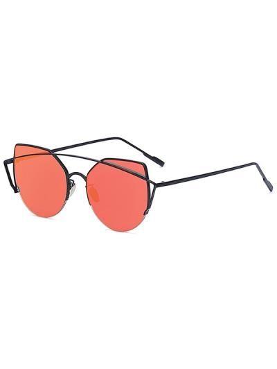 5f19b9bdbd Gato negro de ojos barra transversal con espejo gafas de sol Cat Eye Glasses,  Mirrored