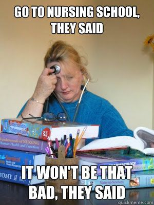 Nursing School Meme : nursing, school, Nursing, School,, Won't, School, Humor,, Memes,, Student, Humor