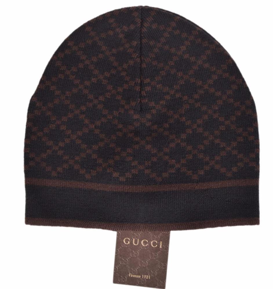 1f866ec736b NEW Gucci Men s 387578 Black Nylon GG Guccissima Web Stripe Baseball ...