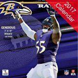 Baltimore Ravens 2017 Calendar