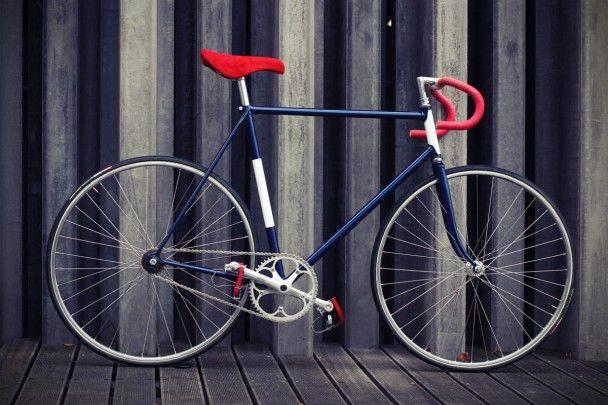 "Fixed gear bike ""Allez!"""