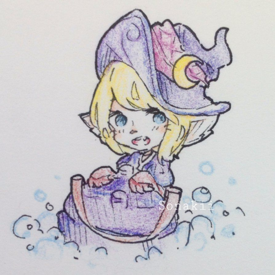 [LoL] Bewitching Tristana by Sonakii