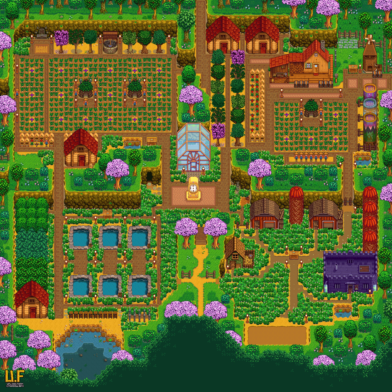Pin By Sarah Bess On Hobby Stardew Valley Stardew Valley Layout Stardew Valley Stardew Valley Farms