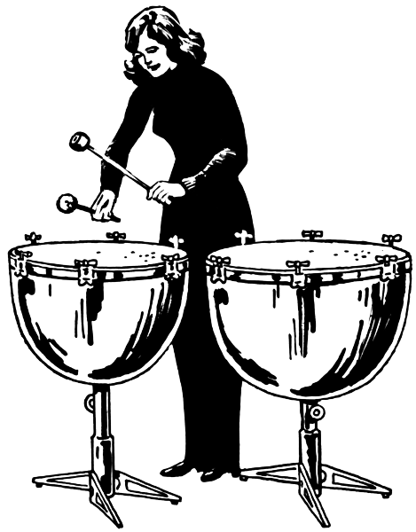 I Want To Play The Kettle Drums For Just A Few Beats I Can Check This Off Now I Went To The Katumbara Marimba S Drummer Art Music Illustration Drum Drawing