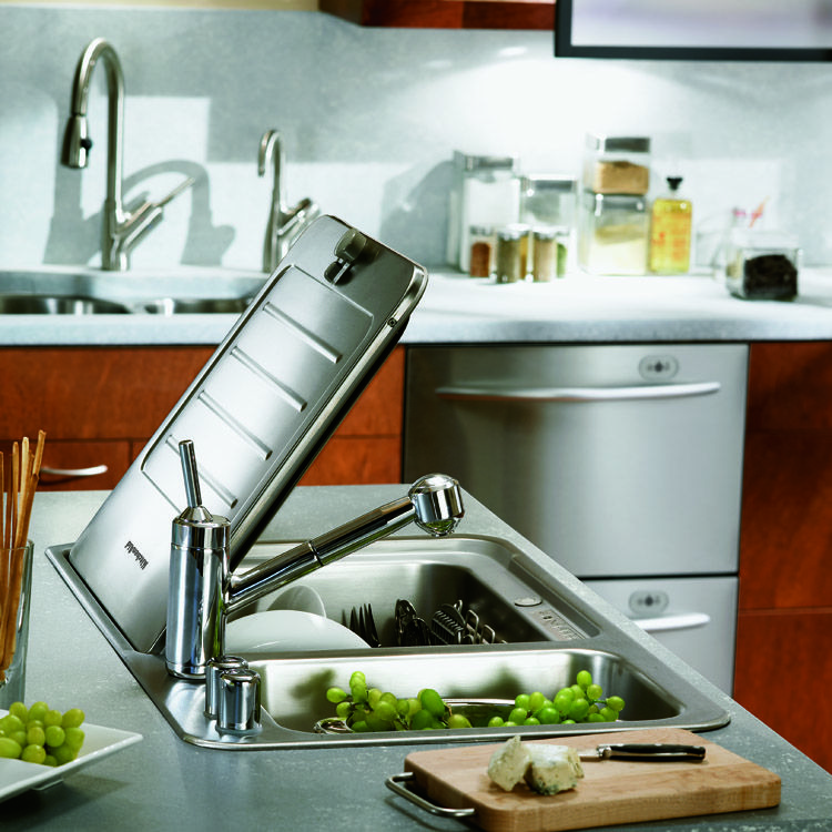 Briva kitchenaid brands breakthrough insink dishwasher