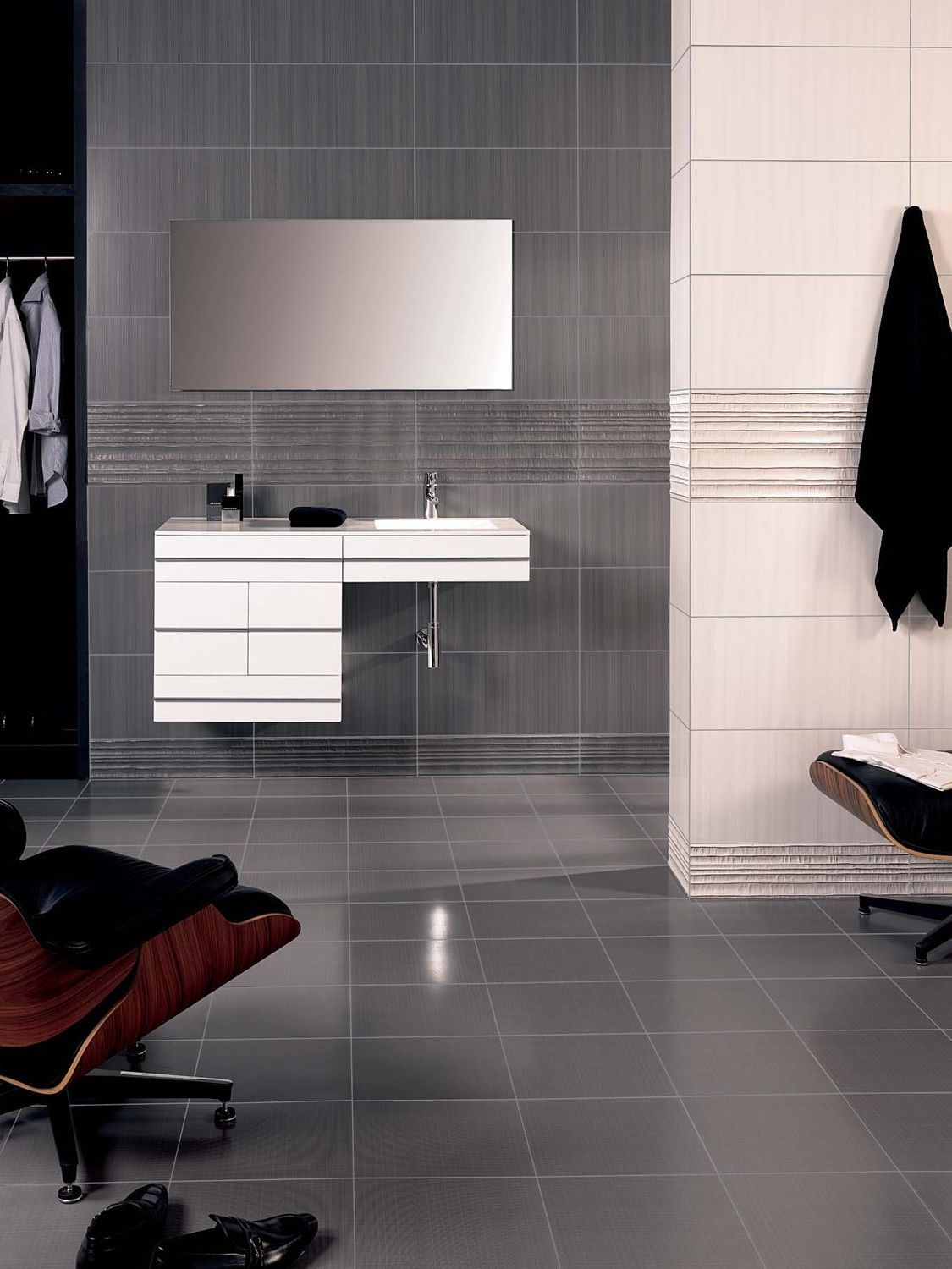 Linen Tile Bathroom Bathroom Exclusiv